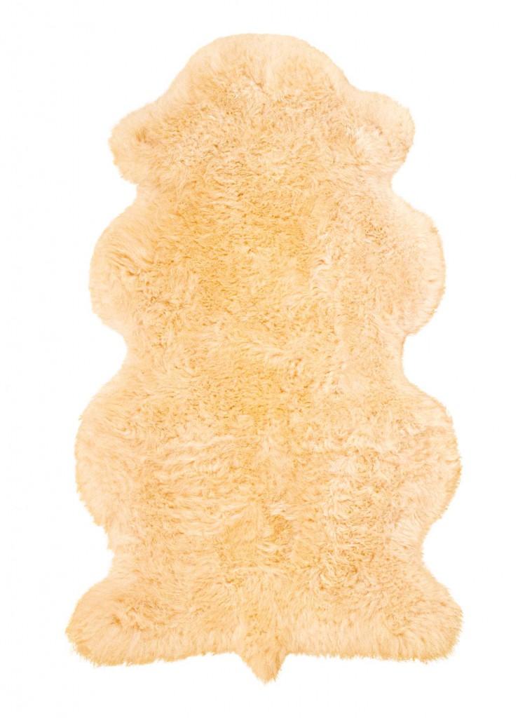 Lammfelle aus 1 1/2 Fellen Farbe beige
