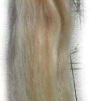 Pferdeschwanz hellblond mit etwas rot 140 cm Gesamtansicht