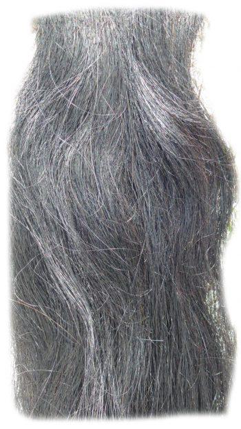 Pferdeschweif schwarz 150 cm