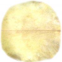 Ziegenpergament Rückendetail