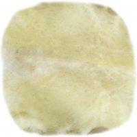 Ziegenrohhaut Rückendetail