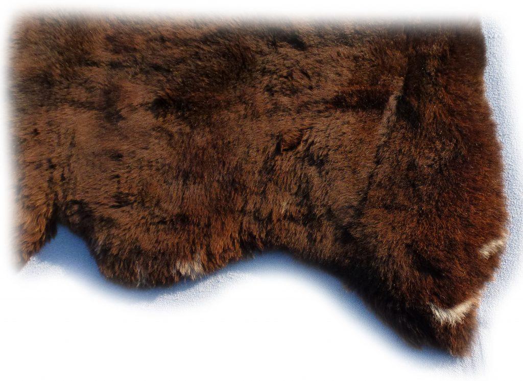 Englisches Schaffell Detail