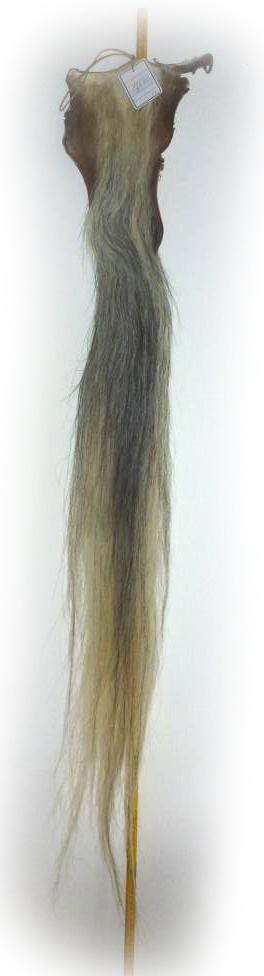 Pferdeschweif beige-grau 140 cm 18102508