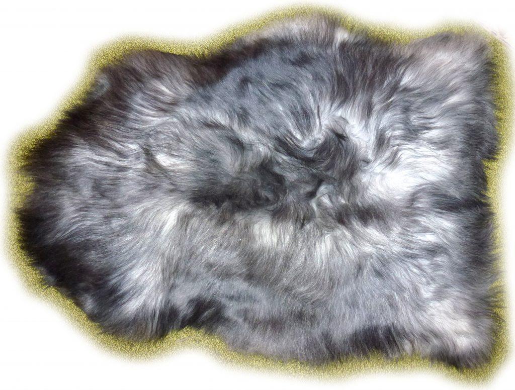Islandschaffell graumeliert