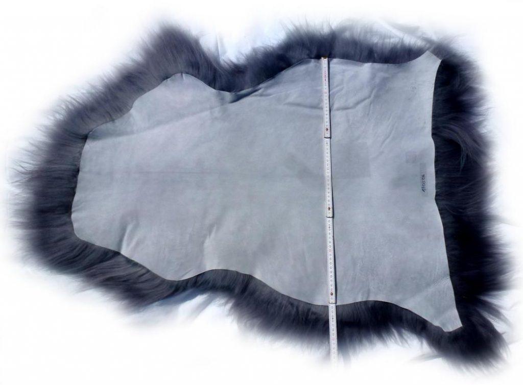 Islandschaffell grau Gesamtbreite