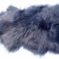 Islandschaffell grau Gesamtlänge