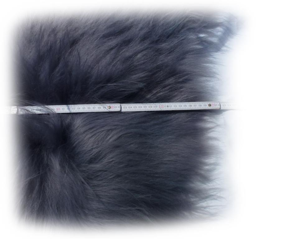 Islandschaffell grau Optische Gesamtlänge