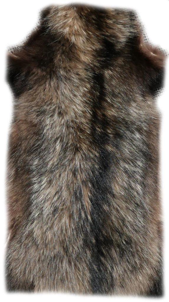 200908 Marderhund 112 cm Rückendetail - h