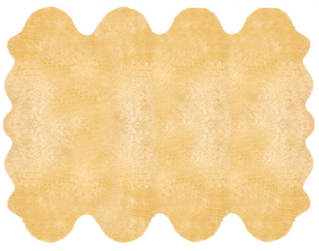 Lammfellteppich aus 8 Fellen