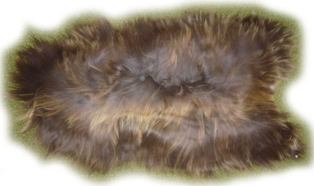 Islandschaffell naturfarben braun