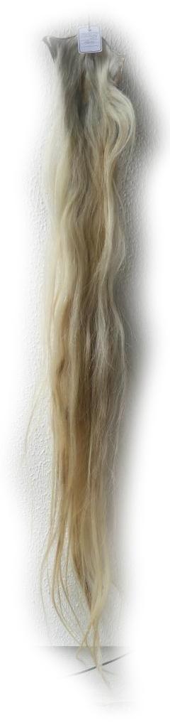 Blonder Pferdeschweif 150 cm lang