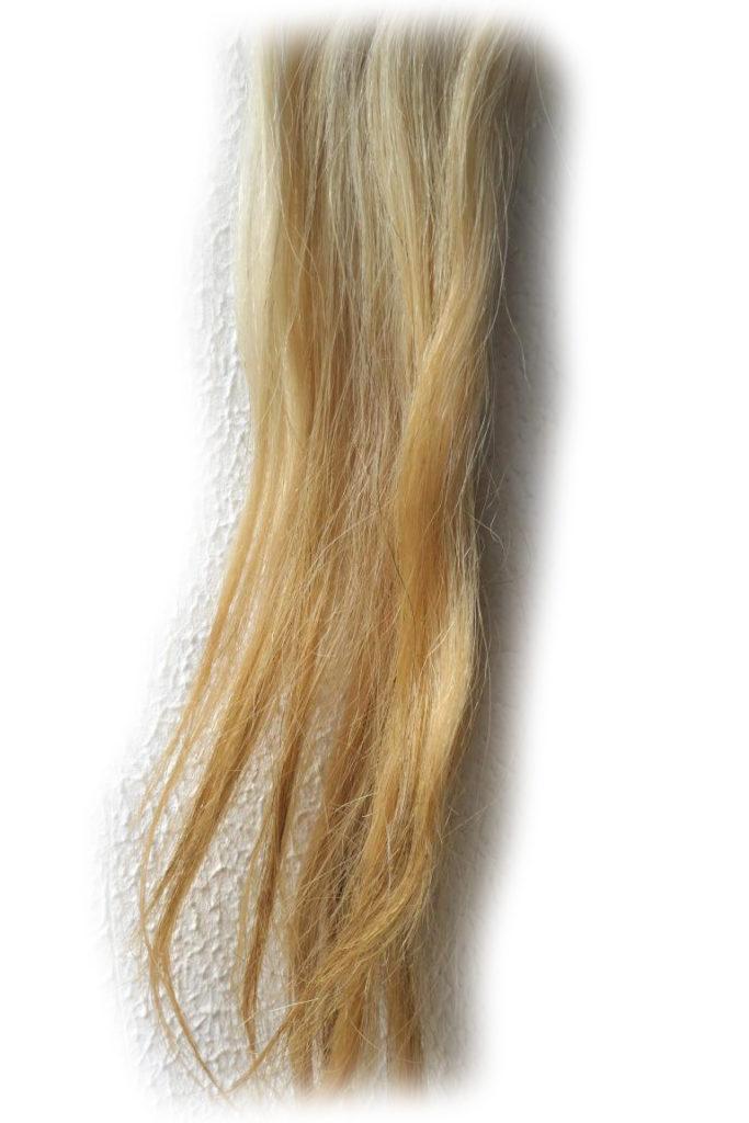 Pferdeschweif blond 120 cm