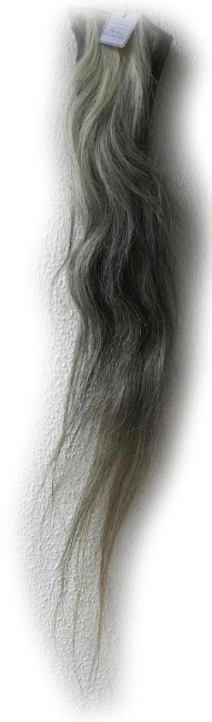 Pferdeschweif blondgrau 120 cm