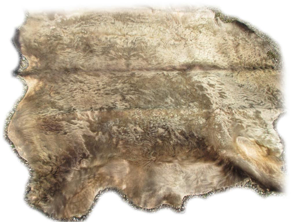 Rinderfell grau beige 2