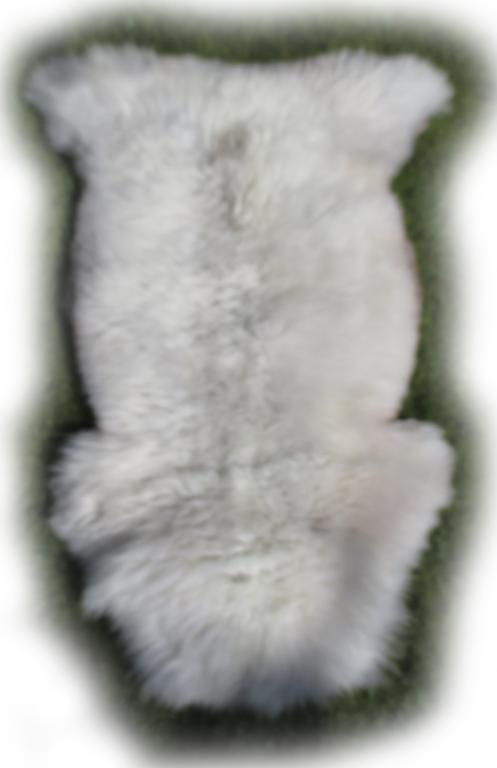 Englsiches Schaffell naturweiß