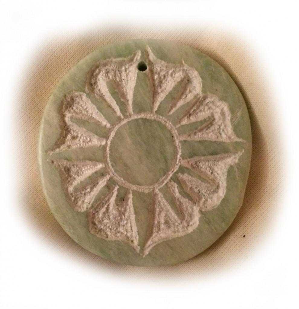 Sonne in Jade