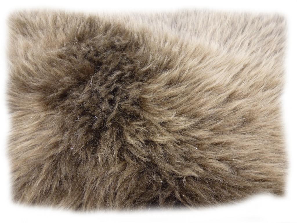 Felldetail des Wollschaflammfelles