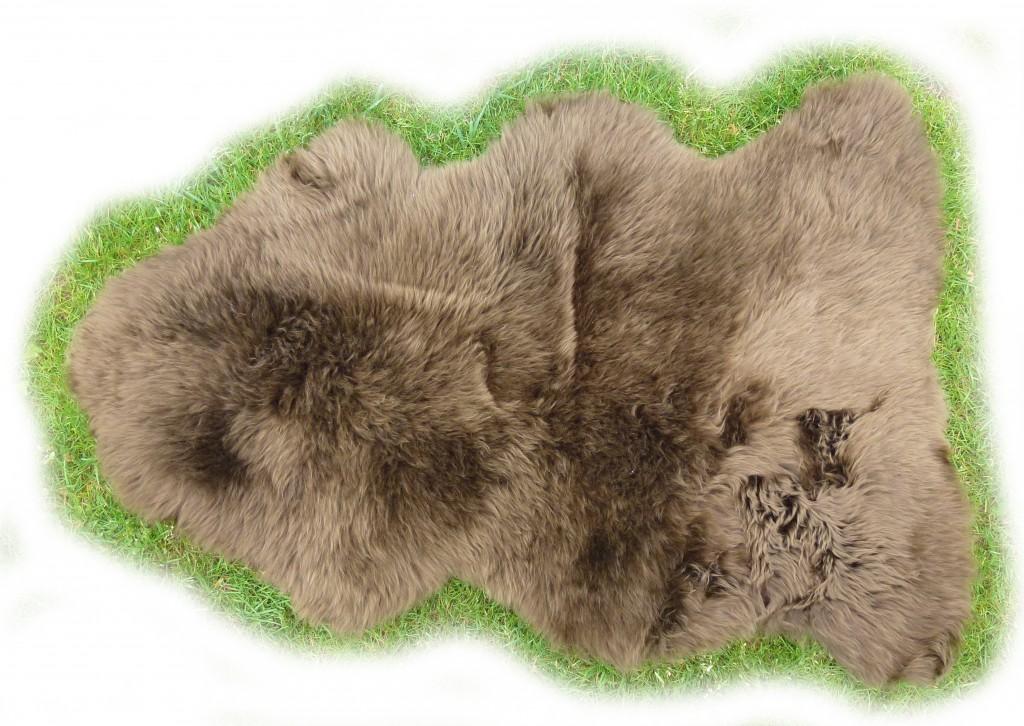 Lammfell des Wollschafes